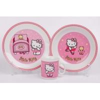 """Набор детский 3пред """"Hello Kitty"""" 128"""