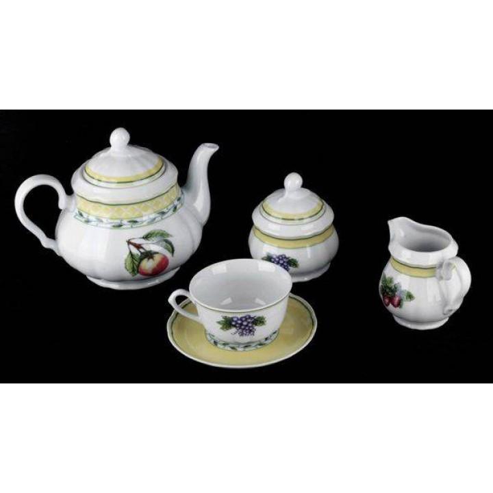 "Сервиз чайный на 6 перс.15пред ""Роза 30200"", наб."