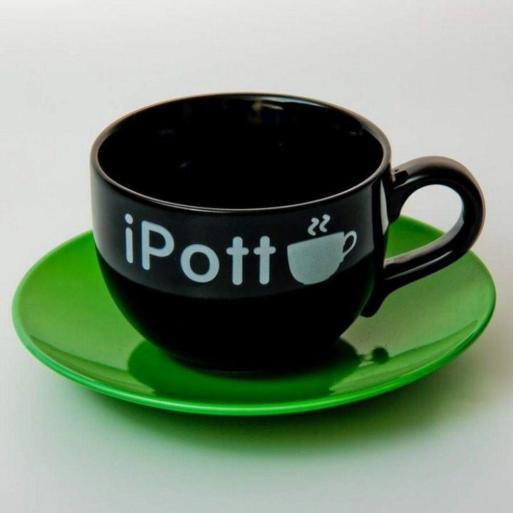 """Набор для чая 500мл.2пред.""""Вехтерсбах-iPott black"""", наб."""