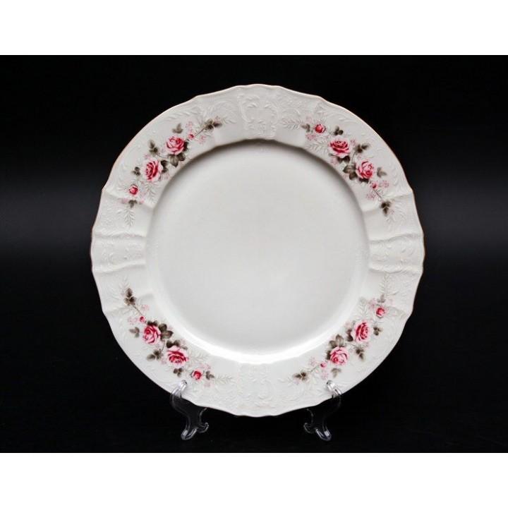 """Набор тарелок 25см. 6шт """"Роза серая 5396011"""" , наб."""