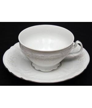 "Набор для чая 155мл. н/н ""Бернадот Платина 2021"" на 6перс.12пред., наб."