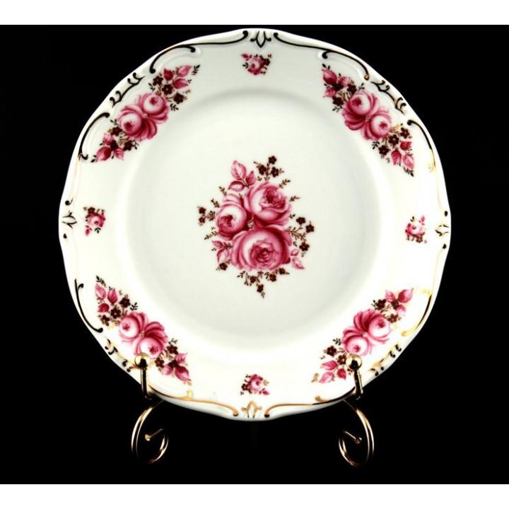 "Набор тарелок 19см.6шт.""Роза"", наб."