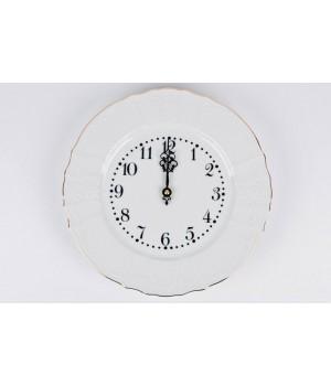 """Часы настенные 27см. """"Бернадот белый 311011"""", шт"""
