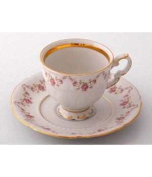 "Набор для кофе ""Соната 158"" (чашка 150мл.+блюдце) на 6ерс.12пред., наб."