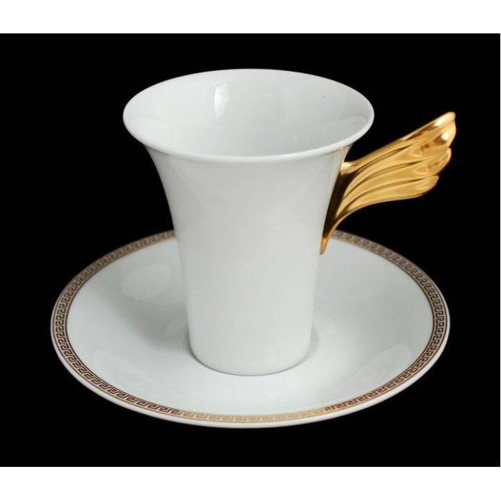 "Пара для кофе 2пред. 180мл. ""Медальон Меандр"", наб."
