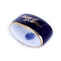 """Кольцо для салфетки """"Ювел синий """", шт"""