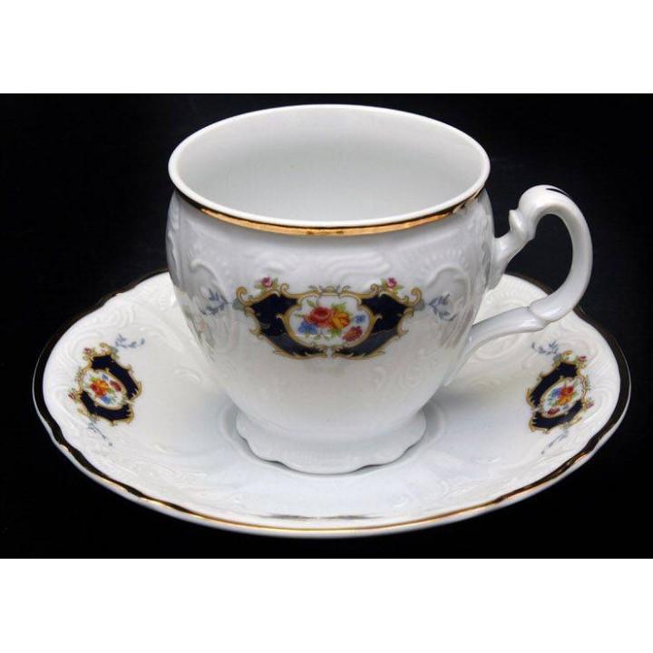 "Набор для чая 160мл. н/н ""Синий глаз 36612"" на 6перс.12пред. выс, наб."
