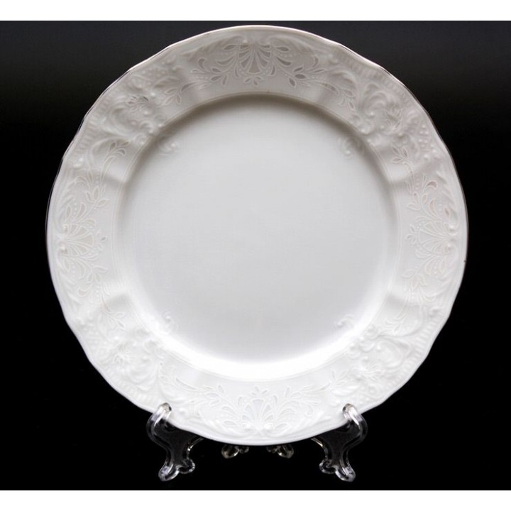 """Набор тарелок 17см.6шт. """"Бернадот Платина 2021"""" , наб."""