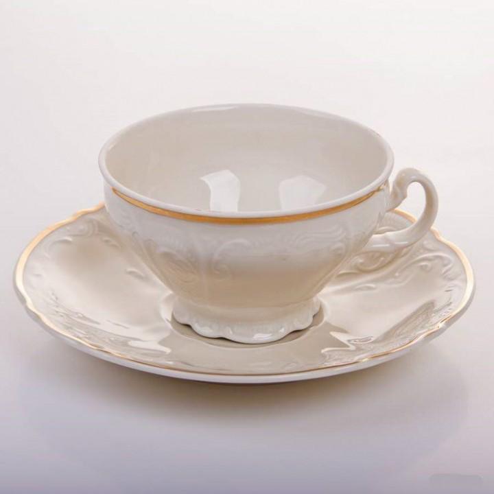 """Набор для чая на 6 перс 12 пред боченок """"Бернадот Ивори 50012"""""""
