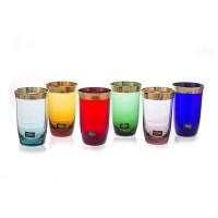 "Набор стаканов 250мл.6шт ""Джесси Колорс"" , наб."