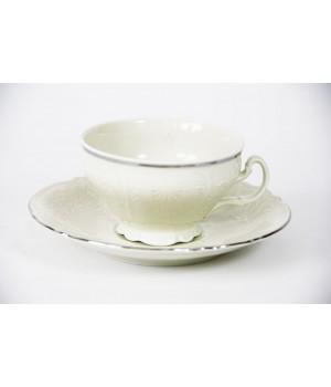 """Набор для чая 155мл. н/н """"Бернадот Ивори 2021"""" на 6перс.12пред , наб."""