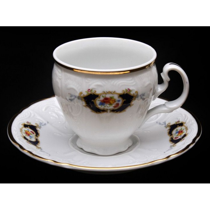 """Набор для чая 140мл. н/н """"Синий глаз 36612"""" на 6перс.12пред., наб."""