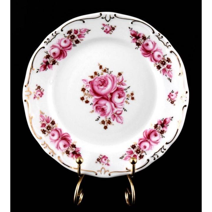 "Набор тарелок 17см.6шт.""Роза"", наб."