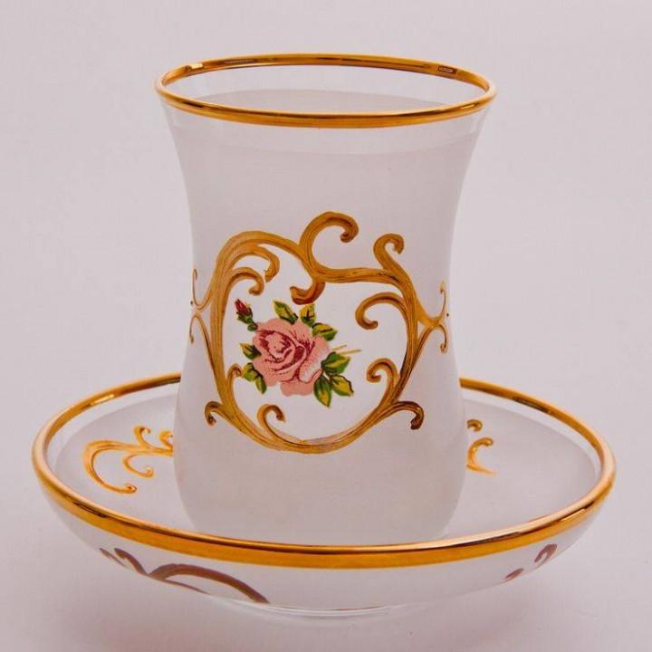 "Набор для чая ""Роза"""