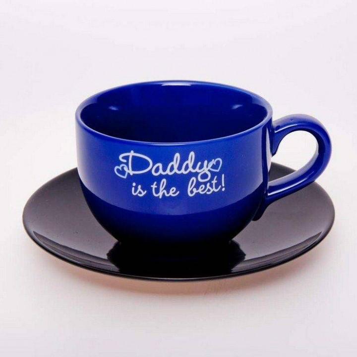 "Набор чайный 500мл.2пред.""Вехтерсбах-Daddy is the best"
