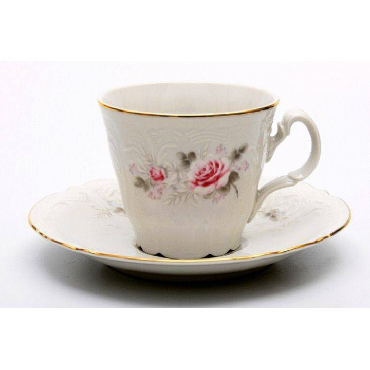 """Набор для чая на 6перс.12пред. выс """"Роза серая 5396011"""", наб."""
