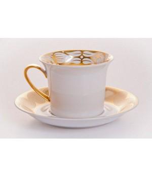"""Пара кофейная """"Персис""""(чашка180мл.+блюдце), наб."""