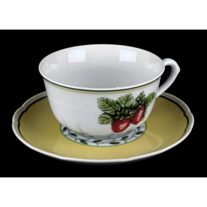 """Набор для чая на 6перс.12пред. низ """"Роза 30200"""", наб."""