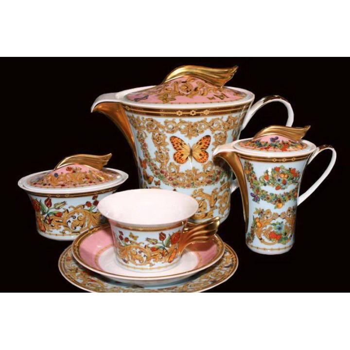 """Сервиз чайный """"Ле Жардин"""" на 6перс. 21пред., наб."""