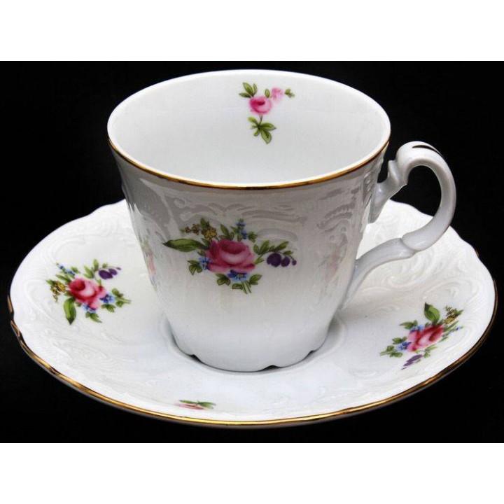 """Набор для чая 160мл. выс """"Полевой цветок 5309011"""" на 6перс.12пред., наб."""