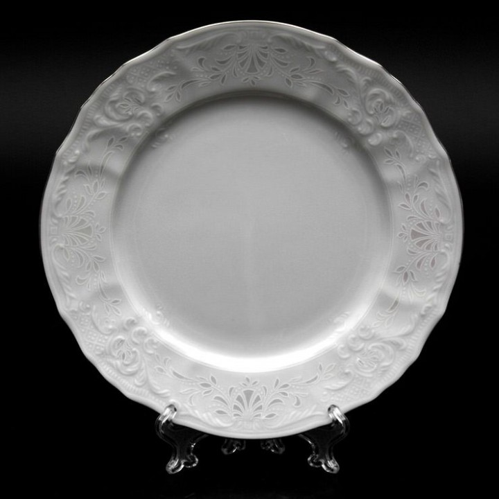 """Набор тарелок 19см.6шт. """"Бернадот Платина 2021"""" , наб."""