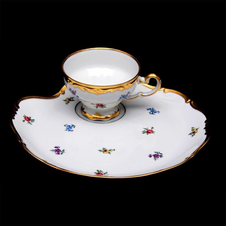 """Набор чайный Эгоист 210мл. на 1перс.2пред.""""Мейсенский цветок"""", наб."""