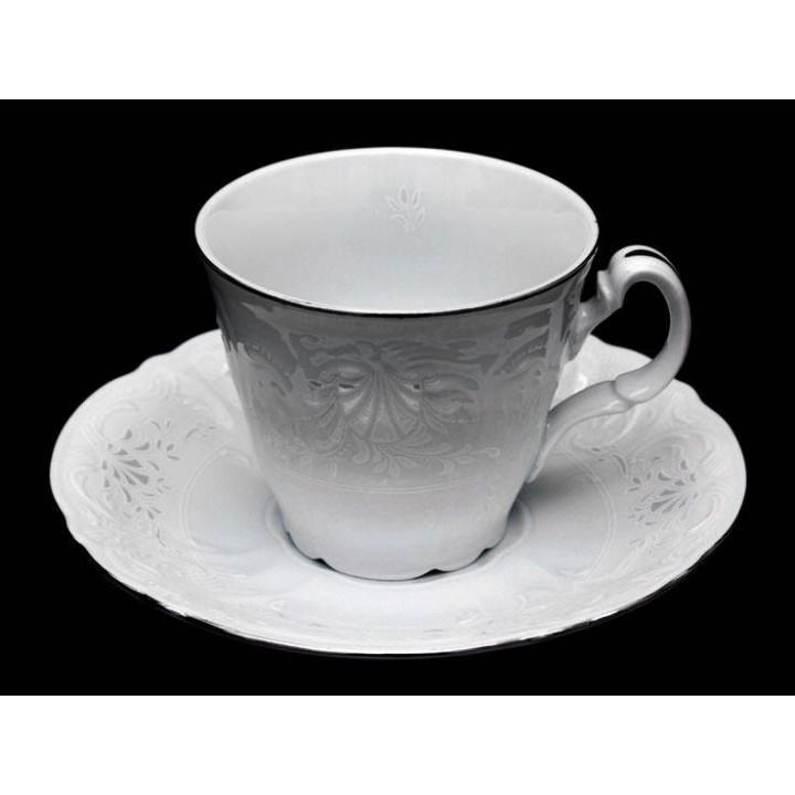 "Набор для чая 160мл. выс. ""Бернадот Платина 2021"" на 6перс.12пред. , наб."