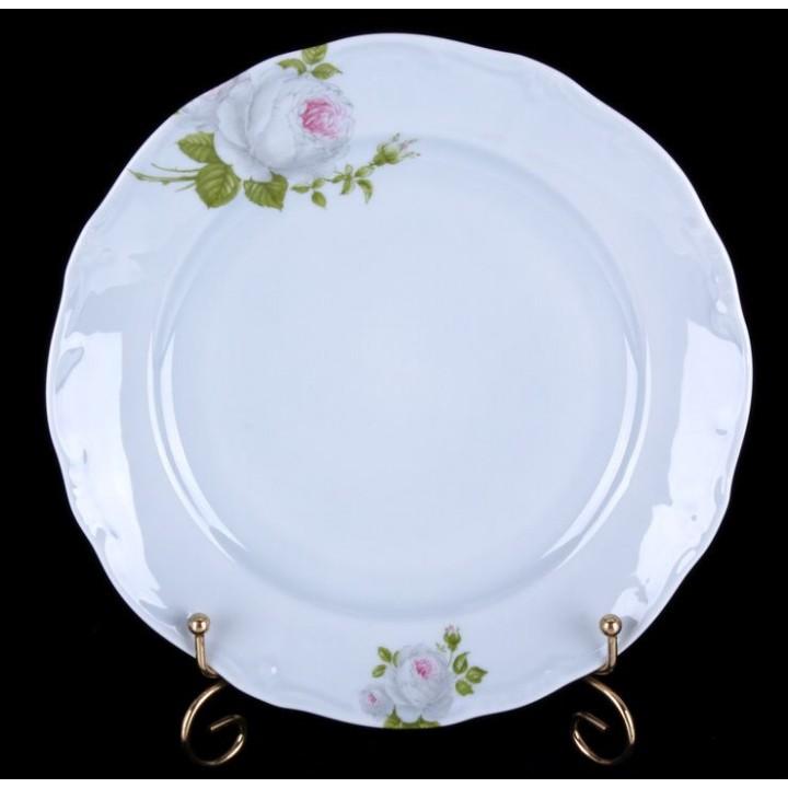 "Набор тарелок 24см. 6шт. ""Алвин голубой"", наб."
