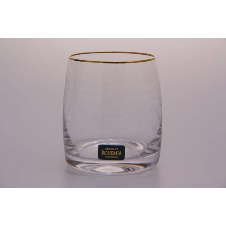 """Набор стаканов 290мл """"Клаудия Золото 431263 """" , наб."""