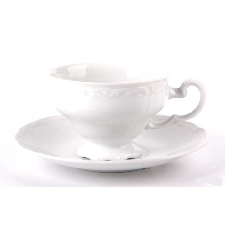 """Набор чайный 210 мл. на 6 перс 12 пред""""Недекорированный"""""""