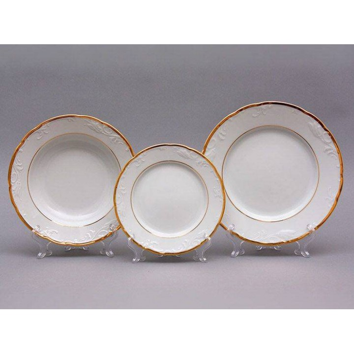 "Набор тарелок для сервировки стола 18шт ""Тулип 17500 """