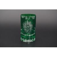 Набор стаканов для воды 150 мл Идеал зеленый (6 шт)