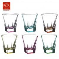 Набор стаканов для виски FUSION RCR TRENDS