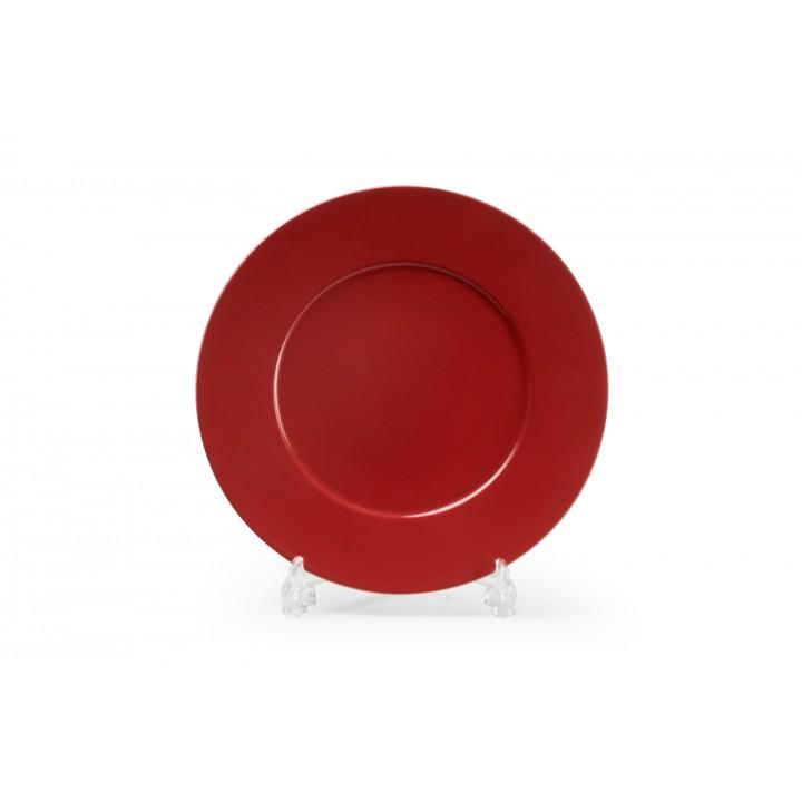 Тарелка десертная 23см, PUTOISAGE ROUGE 3067 купить в Москве в интернет магазине с доставкой
