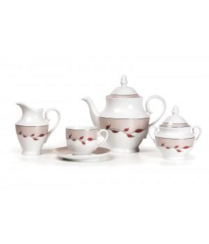 ELITE PLATINE 1570 Сервиз чайный 15пр