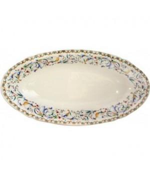 1457CRAV26 Блюдо овальное Gien (для закусок), Тоскана, 27,8x14,2 см.