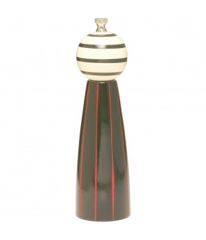27600 Мельница William Bounds LTD., Бали, черно-красный, 22 см., дизайн Роберт Вилхелм
