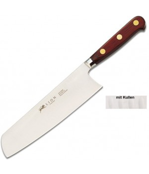 834784 Нож Сантоку Sabatier, САВЬЕ, с фестончатой кромкой, 18 см.