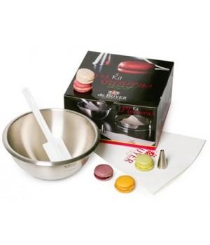 Кухонная посуда DE BUYER серия Кондитерские акссесуары 4856.02 Набор акссесуаров для приготовления Макарун (печенье)