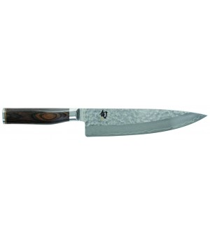 TDM-1706 Нож Шеф (кухонный нож) KAI, Шун Премьер, лезвие 8.0* / 20 см., pукоятка 12 см.