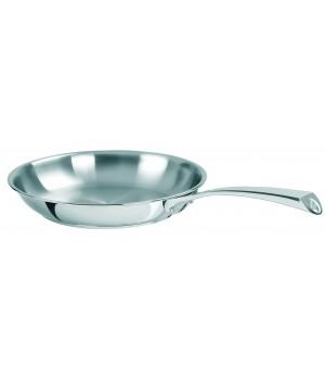 P20CM Сковорода CRISTEL, Кастелин, нерж. сталь, 20 см., многослойное дно Мультиплай