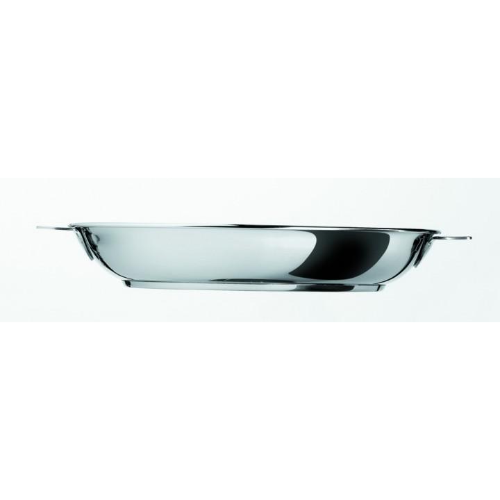P28QMP Сковорода CRISTEL, Мультиплай, 28 см., съемная ручка, многослойное дно Мультиплай