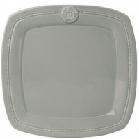 Обеденная тарелка LIFESTYLE, OSLO, серая, 28 см.