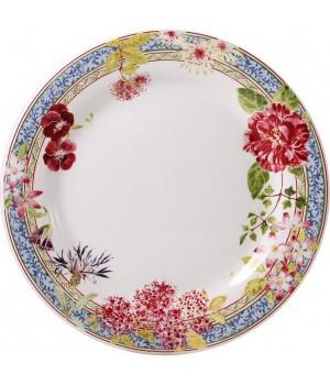 Тарелка обеденная Gien, Многоцветие, 27,4 см.