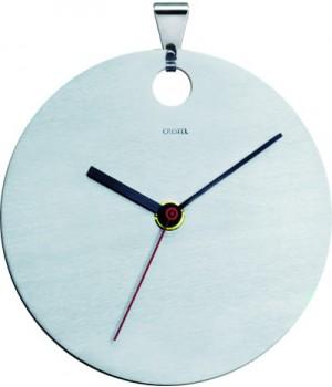 TCH Настенные часы CRISTEL, Навеска, матовый, нержавейка