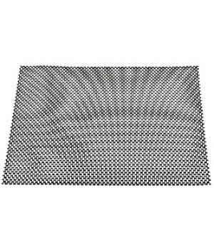108368 Подстановочная салфетка LIFESTYLE, черная/белая, 4 шт., 30*45 см.