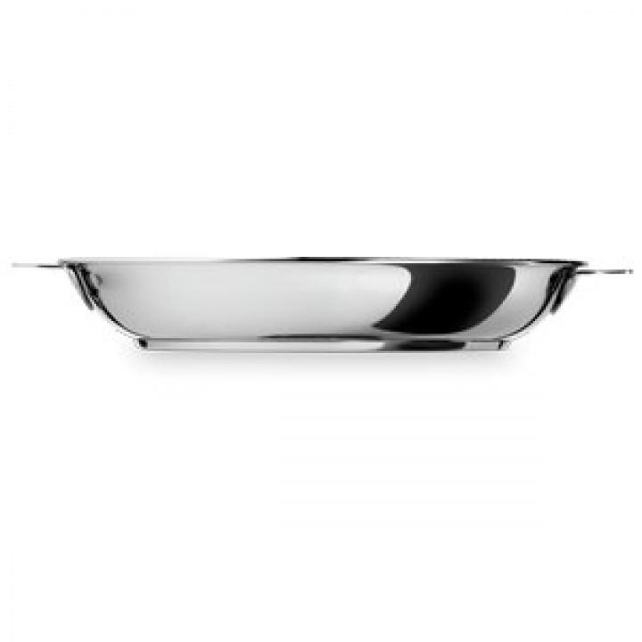 P30QMP Сковорода CRISTEL, Мультиплай, 30 см., съемная ручка, многослойное дно Мультиплай