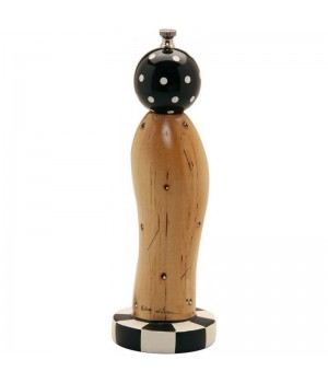 23004 Мельница William Bounds LTD., Пьедестал, деревянная, светло-коричневый, 27 см., дизайн Роберт Вилхелм