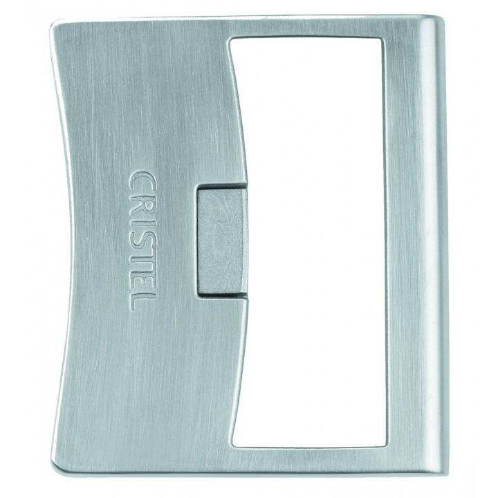 PLSX Короткая съемная рукоятка CRISTEL, Стрейт-фикс, нерж.сталь