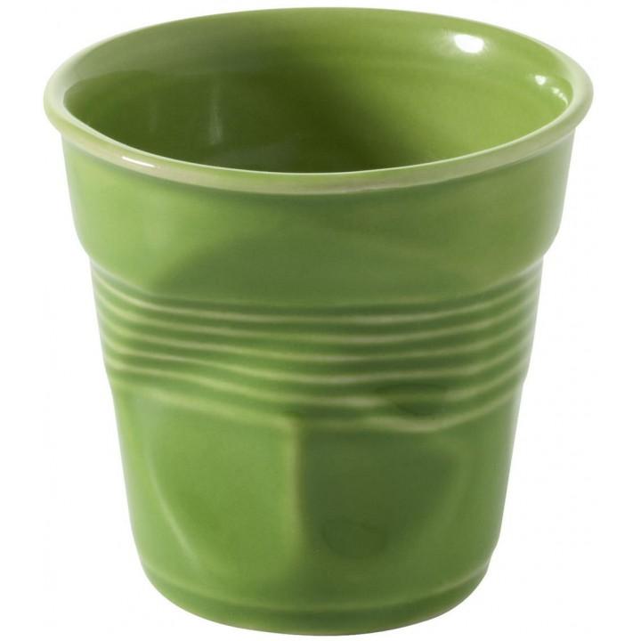 RGO0133-168 мятый стакан Revol, Фруаз, для завтрака, зеленый лайм, 330 мл.